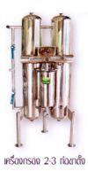 เครื่องกรองน้ำ 2-3 ท่อขาตั้ง