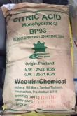 กรดซิตริก โมโนไฮเดรต (Citric Acid Monohydrate)