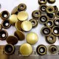ปลีก/ส่ง กระดุม เสน็ป 15 มิล ไม่สนิม🚩 เนื้อทองเหลืองปัดเงา
