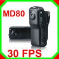 กล้องจิ๋ว MD80 ถ่ายวีดีโอ เป็นกล้องตัวจิ๋วมาก มีคลิบหนีบ'ขาตั้ง'สายคล้องคอ ราคาถูถม๊ากมาก