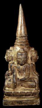 พระพุทธรูป ศิลปพุกาม พม่า No.038