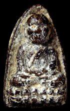 พระหลวงปู่ทวดเนื้อว่านปี ๒๔๙๗ พิมพ์ใหญ่หัวขีด