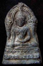 พระชินราชใบเสมา พิมพ์ใหญ่ฐานสูง กรุวัดพระศรีรัตนมหาธาตุ จ.พิษณุโลก No.056