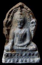 พระชินราชใบเสมา พิมพ์ใหญ่ฐานเตี้ย กรุวัดพระศรีรัตนมหาธาตุ จ.พิษณุโลก No.048