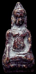 พระหูยาน พิมพ์ใหญ่ กรุเก่าวัดพระศรีรัตนมหาธาตุ ลพบุรี No.019