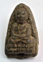 พระหลวงปู่ทวด วัดช้างให้ เนื้อว่าน ปี พ.ศ.2497 พิมพ์ใหญ่  No.2165
