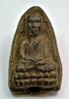 พระหลวงปู่ทวด วัดช้างให้ เนื้อว่าน ปี พ.ศ.2497 พิมพ์ใหญ่หัวมีขีด  No.2166