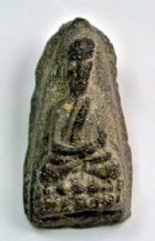 พระหลวงปู่ทวด วัดช้างให้ เนื้อว่าน ปี พ.ศ.2497 พิมพ์กลางชะลูด  No.2172