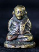 พระรูปหล่อลอยองค์ หลวงพ่อเงิน พิมพ์ขี้ตา 4 ชาย จีวรสั้น วัดบางคลาน จ.พิจิตร No.022