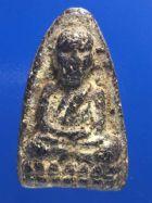 พระหลวงปู่ทวดเนื้อว่าน ปี 2497 พิมพ์ใหญ่หัวมีขีด No.2491