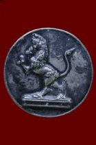 เหรียญคชสีห์เนื้อเงิน หลวงพ่อเดิม วัดหนองโพ จ.นครสวรรค์  No.2514