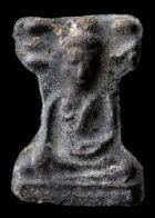 พระมเหศวร พิมพ์ใหญ่เศียรโต กรุวัดพระศรีรัตนมหาธาตุ สุพรรณบุรี No.130