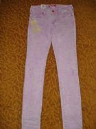 เอชแอนด์เอ็ม ยีนส์ขาเดฟสีม่วงหวาน / Sweet Violet Special Fit Sqin Waist Low Woman Jeans  size 28