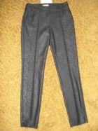 โพรโม้ด กางเกงขายาวสีดำลายหนังงู / Black Snake Pattern Pants  size 4USA--6UK