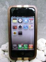 Mixed Wooden Walnut & Maple Iphone4 Case