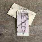 LEPLUS iPhone7 Glass Flim full screen Design 0.33mm (Marble)