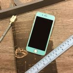 LEPLUS iPhone7 Plus Glass Flim full screen Color 0.2mm (Sky Blue)