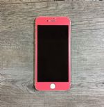 LEPLUS iPhone7 Glass Flim full screen Color 0.2mm (Berry Pink)