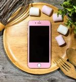 LEPLUS iPhone7 Glass Flim full screen Color 0.2mm (Flower Pink)