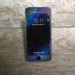 LEPLUS iPhone7 Glass Flim full screen Design 0.33mm (Space)