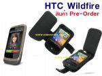 ซองหนังแท้ สำหรับ HTC WildFire