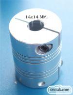 Flexible Coupling 14x14 mm.(size45x60 MM.)