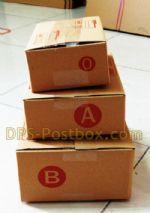 กล่องไปรษณีย์แบบฝาชน ไซด์ 0