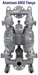 "SIZE 2"" PLASTIC AND METAL DOUBLE DIAPHRAGM PUMP"
