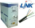 Cat5e UTP w/Drop Wire (Single Jacket)