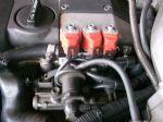 MERCEDES- BENZ E280 (วางเครื่องJ) ติดตั้งชุดแก๊สอิตาลี่6สูบหัวฉีดแบบรางถังโดนัท71ลิตร