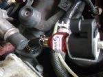 MERCEDES- BENZ C180 ติดตั้งชุดแก๊สอิตาลี่4สูบหัวฉีดแบบแยกอิสระถังโดนัท71ลิตร
