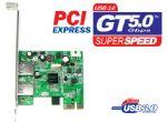 PCI-E: 2 x USB3.0