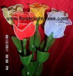 ดอกกุหลาบตูมคละสี