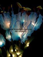 โคมดอกดาวดึงส์ สีฟ้า