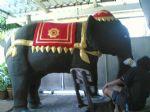 งานแกะโฟมม้า' คชสิงค์' ช้าง