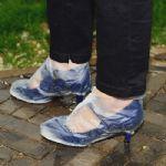 ปลอกหุ้มรองเท้ากันฝน กันสกปรกคุณผู้หญิง