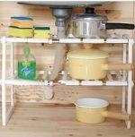ของใช้ในครัวเรือน : ชั้นเก็บของใต้ตู้ซิงค์