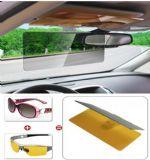 ของใช้ในรถ : แผ่นโพลาไรซ์ตัดแสงติด visor หน้ารถ
