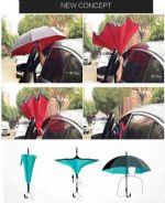 ร่ม reverse กันแดดกันฝน กางง่ายกว่าเดิมไม่เปียก