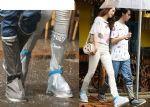 ปลอกรองเท้ากันฝน กันน้ำลุยน้ำท่วมได้