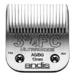 ใบมีด Andis - UltraEdge Clipper Blade' Size #3 3/4 FC' Leaves Hair 1/2