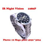 กล้องนาฬิกาข้อมือ FULL HD 1080P อินฟราเรดสายเหล็ก ถ่ายวีดีโอ ถ่ายภาพนิ่ง บันทึกเสียงภาพชัดเว่อร์
