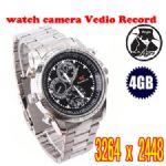 กล้องนาฬิกาแอบถ่ายพร้อมเมมโมรี่ 4 GB SC-009