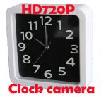 กล้องนาฬิกาแขวนผนัง HD720P ถ่ายวีดีโอเมื่อมีการเคลื่อนไหว ถ่ายภาพนิ่ง บันทึกเสียง ถ่ายวีดีโอต่อเนื่องได้นานมากกว่า 24 ชั่วโมง มีรีโมทควบคุมยิงผ่านทะลุกำแพง แถมเมมโมรี่ 8 GB