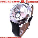 กล้องนาฬิกาข้อมือ อินฟราเรด FULL HD 1080P ถ่ายวีดีโอในที่มืดได้ชัดมาก ถ่ายภาพนิ่ง บันทึกเสียง พร้อมเมมโมรี่ 8 gb