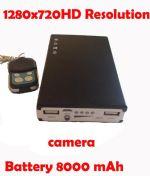 กล้องซ่อนในที่ชาร์จแบตฉุกเฉินHD720P ถ่ายได้นาน 30 ชั่วโมง สามารถใช้ชาร์จแบตเตอรี่โทรศัพท์ได้จริงทุกรุ่น มีรีโมทควบคุมการทำงาน ยิงทะลุกำแพงได้ แถมเมมโมรี่ 8 gb