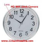 กล้องนาฬิกาแขวนผนังHD720P Wifi ดูผ่านมือถือ ผ่านแท็บเล็ต ใช้แทนวงจรปิดได้เลย