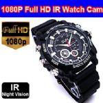 กล้องนาฬิกาข้อมืออินฟราเรด FULL HD 1080P  พร้อมเมมโมรี่ 16GB ถ่ายวีดีโอ ถ่ายภาพนิ่ง บันทึกเสียง สวยมากๆ