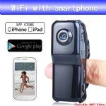 กล้องจิ๋ว MD80 Wifi IP ดูผ่านมือถือเรียลไทม์ 24 ชั่วโมง
