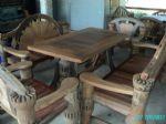 โต๊ะชุดหางนกยูง 150 ซม